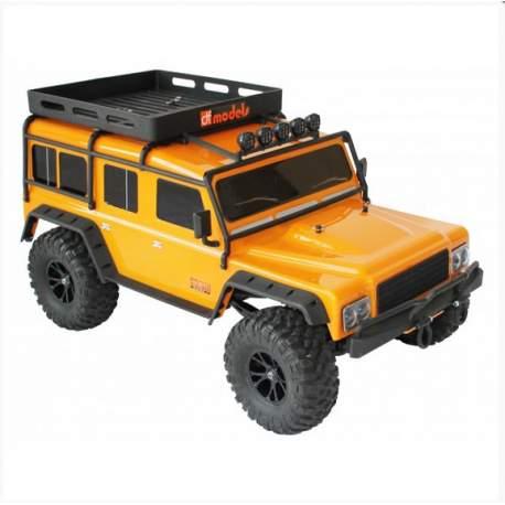 Crawler DF-4J XXL RTR Inc. Bat/Car 1/10 Rc Electrico Df-models