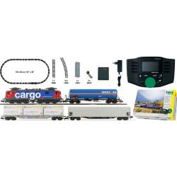 Tren Set de inicio digital SBB Cargo | DCC | N Minitrix