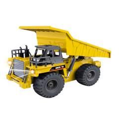 Camión Volquete 6 canales R/C 2.4Ghz 1/18 HUI NA TOYS