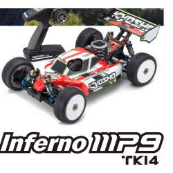 Inferno MP9 MKi4 1/8 Readyset Kyosho