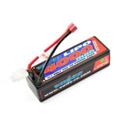 Batería Lipo 3S 4000mAh 11.1 50C Caja Dura Voltz