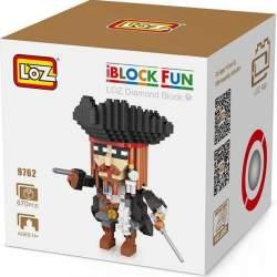 Construcción de bloques Capitán Pirata Loz