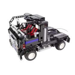 Construcción de bloques 2 en 1 Camión y deportivo - Rc Electrico