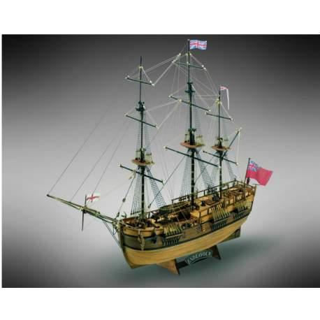Maqueta Naval - ENDEAVOUR - Barco de James Cook´s 1/100 Mamoli