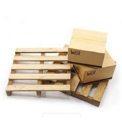 Accesorios Rc Crawler- Pallet y cajas 1/10 Hobby Delgado