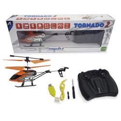 Helicoptero Tornado 2 Azul y Naranja bateria LiPo