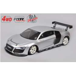 4WD 530 RTR Chassis + Audi R8 body 1/5