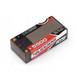 Bateria RUDDOG 5500mAh 100C 7.6V LiHV Graphene Plus Shorty