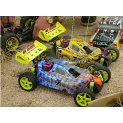 Buggy Syclone 1/10 Nitro HI8101 Off Road RTR 4WD - Himoto