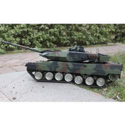 Tanque rc German Leopard 1:16 2A6 Heng Long 2.4 Ghz