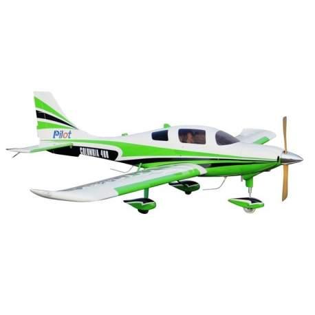 Avión acrobativo EP-GP - Pilot RC Columbia 400 - 50cc 3250mm verde
