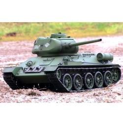 Tanque rc T-34 (Rudy 102) 1:16 Heng Long 2.4 Ghz