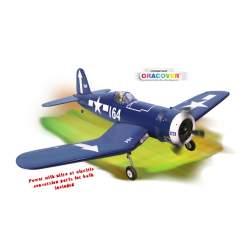 Avión F4U CORSAIR SCALE 1:8 ½ ARF .46-.55