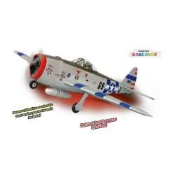Avión P47 THUNDERBOLT GP/EP SIZE .91/15CC SCALE 1:7 ARF - Phoenix Models