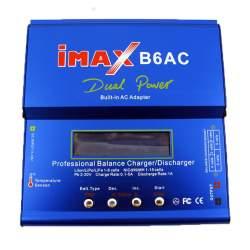 IMAX B6 AC DE 80W Cargador balanceador inteligente programable