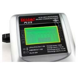 T610AC PLUS Cargador de batería Lipo-100W 10A con pantalla táctil