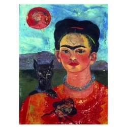 Puzzle Autorretrato de Frida Kahlo 1000pz. - Ricordi Arte