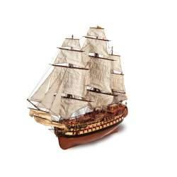Maqueta naval Montañés, navío 1:70