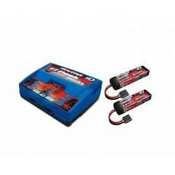 Combo - 6S LiPo y cargador 2x 5000mAh 3S Batería / Cargador Paquete completo 2990 - Traxxas