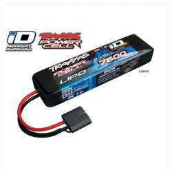 Bateria LiPo Power Cell 7600mAh 7.4V 2S 25C Summit E-Revo SlasH ID - Traxxas