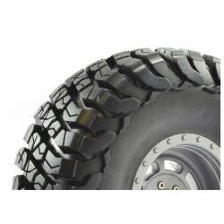 Rueda Crawler 2.2 FASTRAX 1/10 Granite 140mm Gris