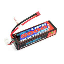 Batería Lipo 7,4V 5000mAh 50C Hardcase (T-Dean) - Voltz
