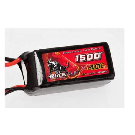 Batería lipo para dron 1500mah 4S XT60-RockAmp