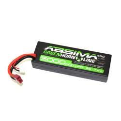 Bateria LiPo Stick Pack 7.4V-45C 5000 Hardcase (T-Plug)-Absima
