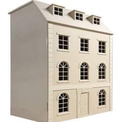 Casa de muñecas Nottingham en kit.