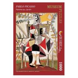 """Puzzle Picasso """"Femme au jardin"""" 1000 piezas-Ricordi"""