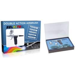 Aerografo de doble acción-Pistola de gravedad