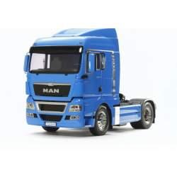 Camión Man R/C Electrico Kit TGX 18.540 Azul Frances-Tamiya