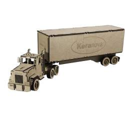 Camión trailer kit de madera - Keranova