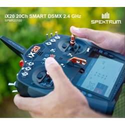Emisora SPEKTRUM iX20 20 Canales DSMX 2.4GHz