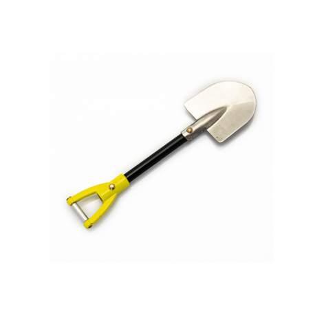 Accesorios Crawler Rc - Pala mango amarillo de metal - Hobbytech