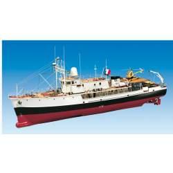 Maqueta Naval, CALYPSO (Jacques Cousteau) RC 1/45 2018-Billing Boats