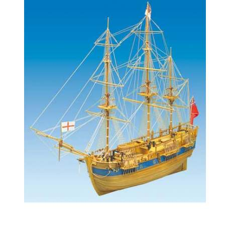 Maqueta Naval Endeavour 1/40 - Mantua Model