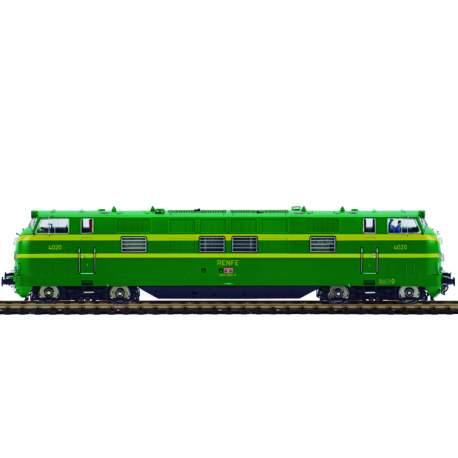 Maquina de tren HO Locomotora 4026 UIC 340-026-4