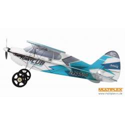 Avión Multiplex FunnyCub Indoor Edition azul - Rc Electrico