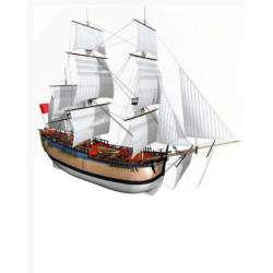 Maqueta Naval HMS Endeavour 1/50 - Billing Boats