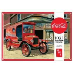 Maqueta de plástico AMT Ford T Coca Cola 1923. Escala 1:25