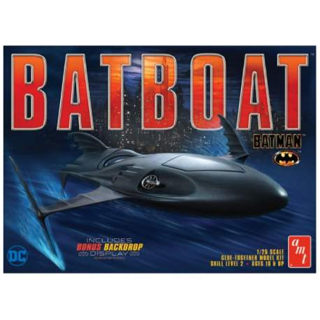 Maqueta Batman Batboat 1/25-AMT