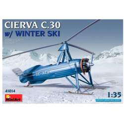 Autogiro de La Cierva C.30 with Winter Ski 1/35