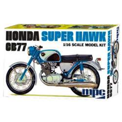 Maqueta Honda Super Hawk 1/16 - MPC