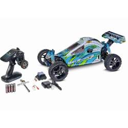 Coche gasolina Dirt Attack GP 3.0, 2.4G RTR 1/5 - Carson