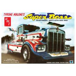 Maqueta Camión Tyrone Malone SuperBoss 1/25 - AMT