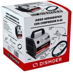 Juego Aerográfico Compresor D-40 - Dismoer