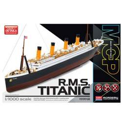 Maqueta RMS Titanic 1/1000 - Academy