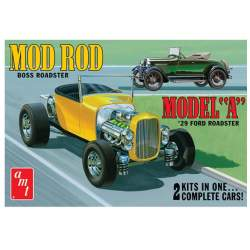 Maqueta Ford Model A Roadster 1929 1/25 AMT