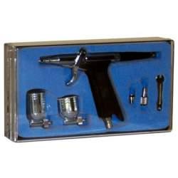 Aerógrafo, Pistola D-116 con dos cubetas